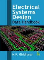 Electrical Systems Design PDF