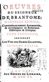 Oeuvres du seigneur de Brantome