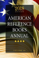 American Reference Books Annual PDF