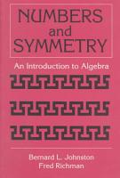 Numbers and Symmetry PDF
