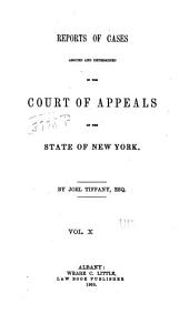 Reports of Cases Decided in the Court of Appeals of the State of New York: Volume 37