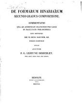 De formarum binariarum secundi gradus compositione