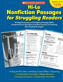 Hi-lo Nonfiction Passages for Struggling Readers