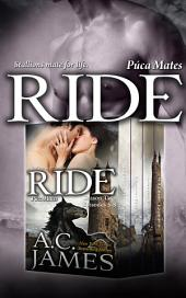 Ride: Cyn and Fallon: BBW Paranormal Shape Shifter Romance (Puca Mates Season Two Box Set, Episodes 5-8)