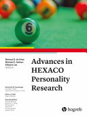 Advances in HEXACO Personality Research PDF