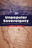 Unpopular Sovereignty PDF
