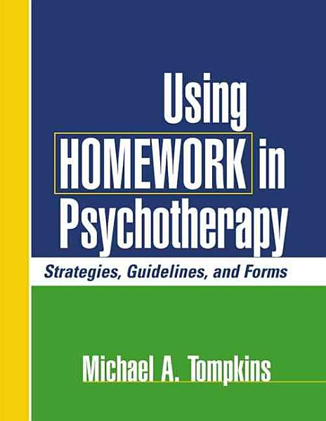 Using Homework in Psychotherapy PDF