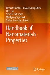 Handbook of Nanomaterials Properties