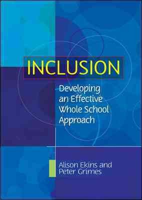 Inclusion  Developing An Effective Whole School Approach