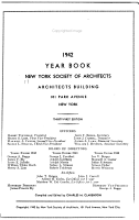 Year Book of the New York Society of Architects PDF