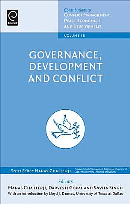 Governance  Development and Conflict