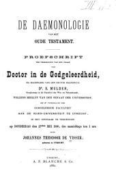 De daemonologie van het Oude Testament: Nummers 1-13