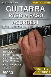 Acordes, Guitarra Paso a Paso - con Videos HD: Diatónicos, Tríadas, con 7 y 6