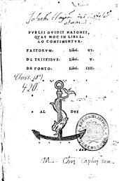 Quae Hoc In Libello Continentur. Fastorum Libri VI