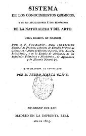 Sistema de los conocimientos químicos y de sus aplicaciones a los fenómenos de la naturaleza y del arte: Volumen 3