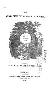 Magazine of Natural History: Volume 2