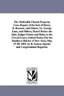 The Methodist Church Property Case PDF