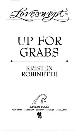 Up for Grabs PDF