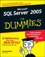 Microsoft SQL Server 2005 For Dummies PDF