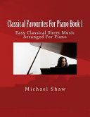 Classical Favourites for Piano Book 1 PDF