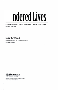 Gendered Lives PDF