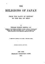 The Religions of Japan: From the Dawn of History to the Era of Méiji