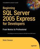Beginning SQL Server 2005 Express for Developers PDF