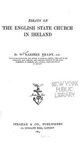 Essays on the English State Church in Ireland