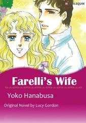 FARELLI'S WIFE: Harlequin Comics