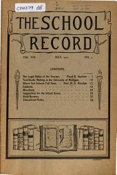 School Record: Volume 8, Issue 7