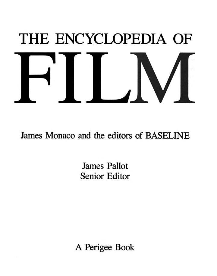 The Encyclopedia of Film