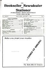 The Bookseller, Newsdealer and Stationer: Volume 36