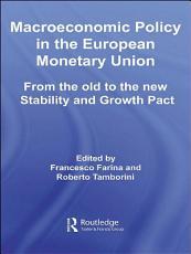 Macroeconomic Policy in the European Monetary Union PDF