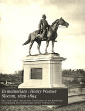 In memoriam : Henry Warner Slocum, 1826-1894