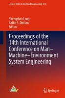 Proceedings of the 14th International Conference on Man Machine Environment System Engineering PDF