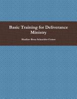 Basic Training for Deliverance Ministry PDF