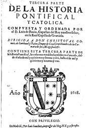 TERCERA PARTE DE LA HISTORIA PONTIFICAL Y CATHOLICA: Página 3