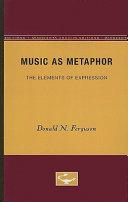 Music as Metaphor