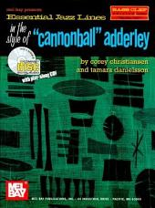 Essential Jazz Lines in the Style of Cannonball Adderly, Bass Clef