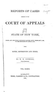Reports of Cases: Volume 84