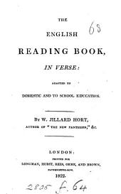 The English reading book, in verse