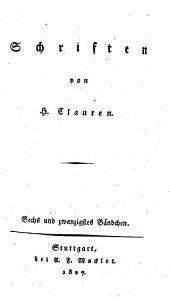 Schriften: Band 26