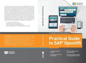 Practical Guide to SAP OpenUI5 PDF
