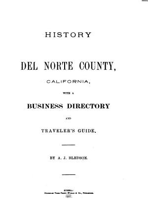 History of Del Norte County  California PDF