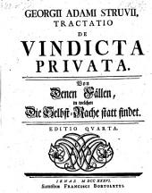 Georgii Adami Struvii, Tractatio De Vindicta Privata