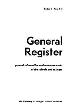 General Register PDF