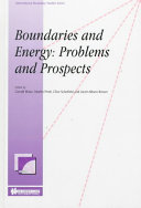 Boundaries and Energy Problems and Prospects PDF