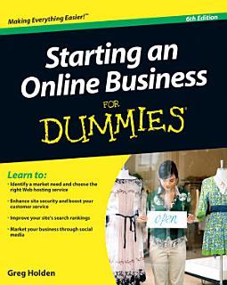 Starting an Online Business For Dummies Book