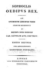 Sophocles Oedipvs rex