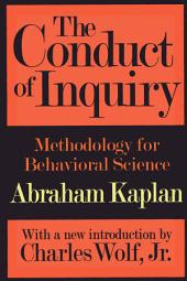 The conduct of inquiry